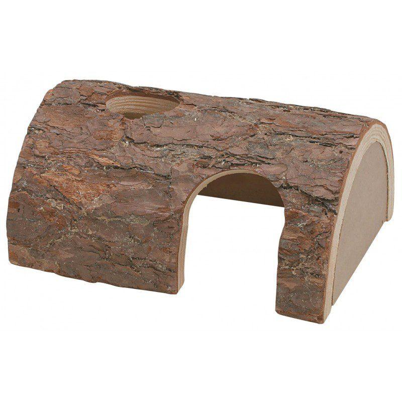 Drewniana kryjówka dla gryzoni drewniany domek dla jaszczurek