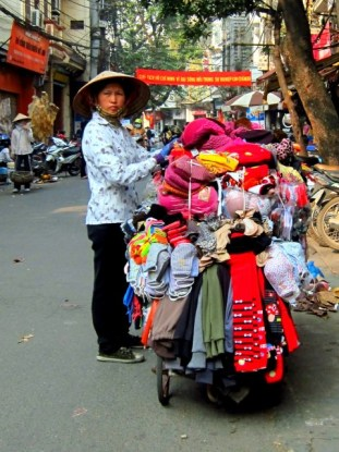Clothing Cart, Hanoi