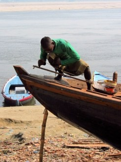 Boat Builder, Varanasi