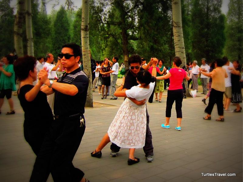 Dancing in the Park, Beijing