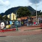 Bogota Street Art: Downtown near University
