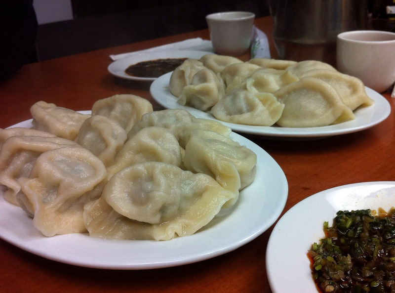 Chinese dumplings! I could eat it everyday!