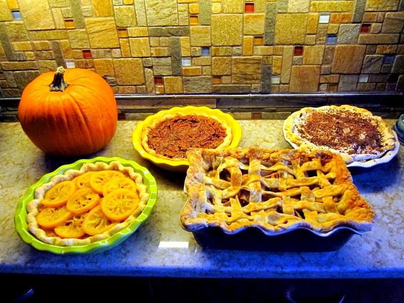 November: Thanksgiving Pies