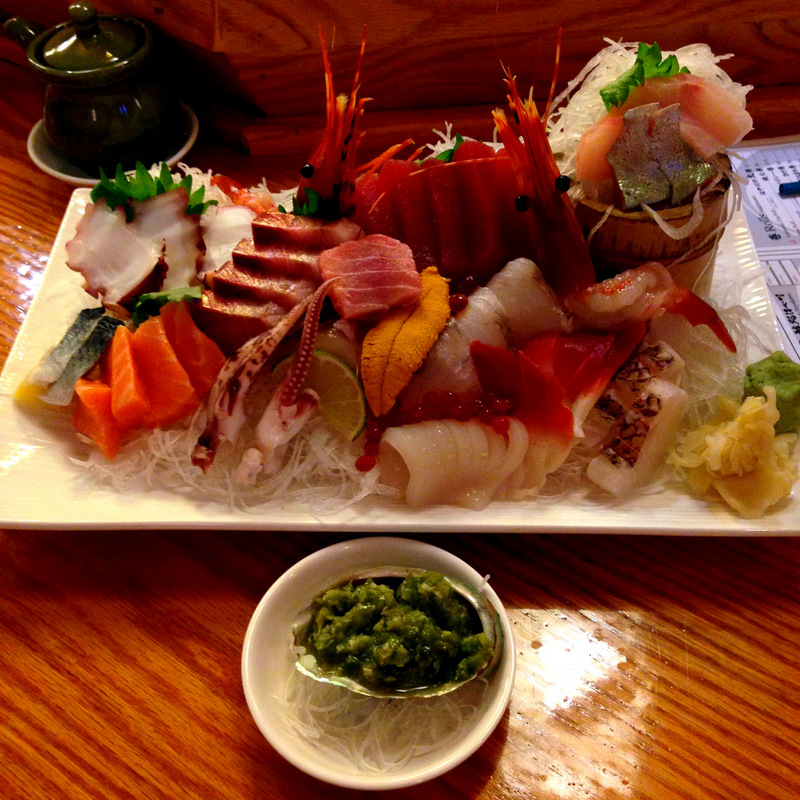 November: Sashimi