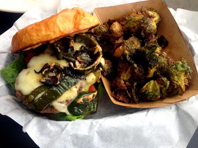 September: Poblano Chile Burger