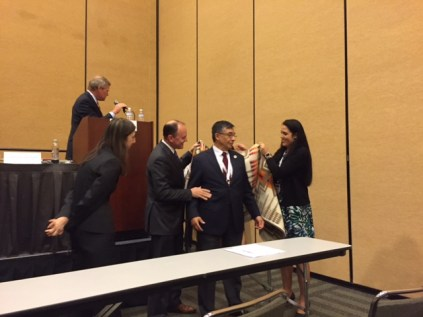 Kirke Kickingbird honored as first Native American Chair of an ABA Section (Civil Rights and Social Justice)