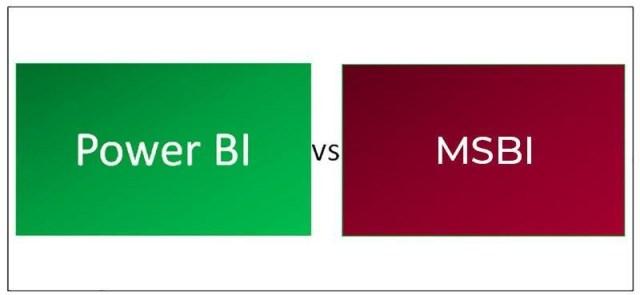 Power BI and MSBI