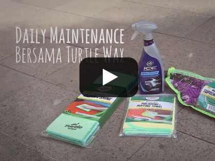 Daily Maintenance Bersama Turtle Wax