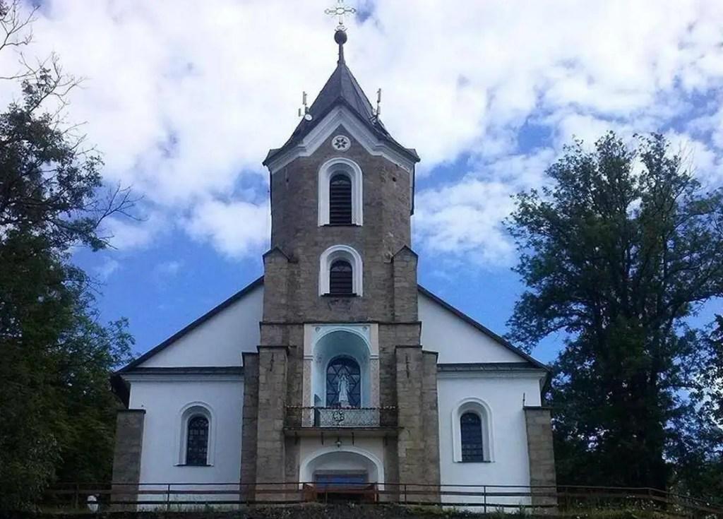 Sanktuarium na Jasnej Górce koło Żywca