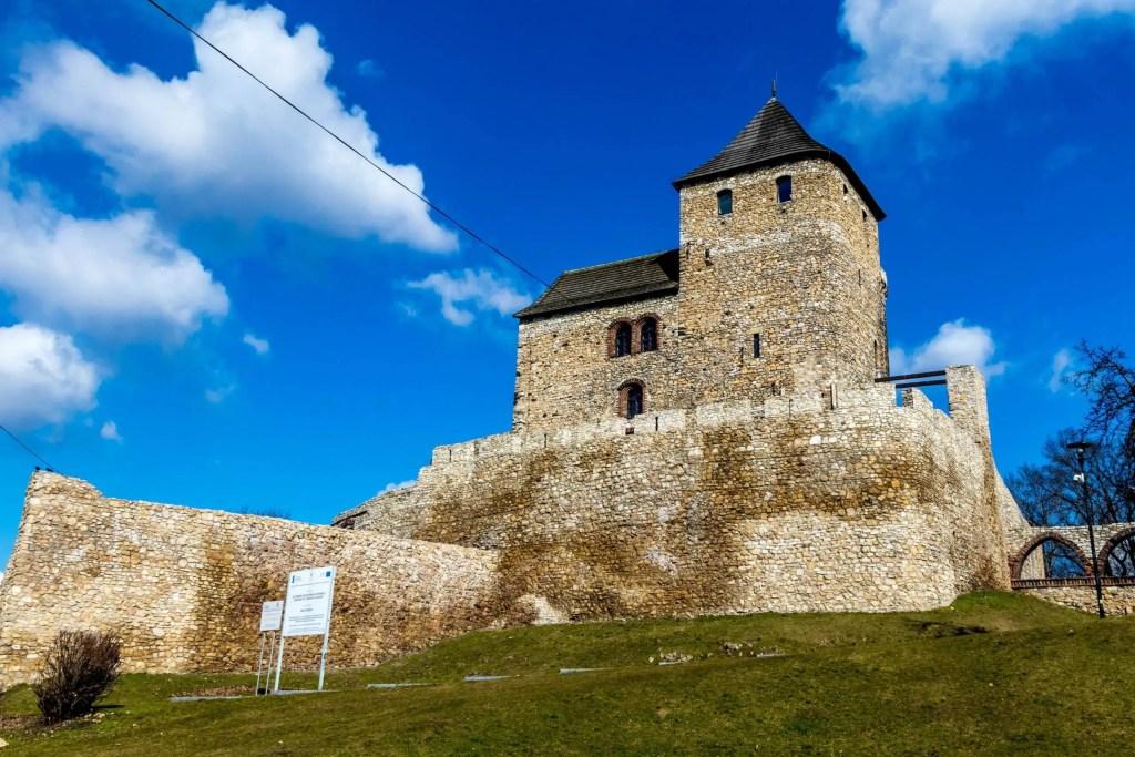 Zamek obronny w Będzinie