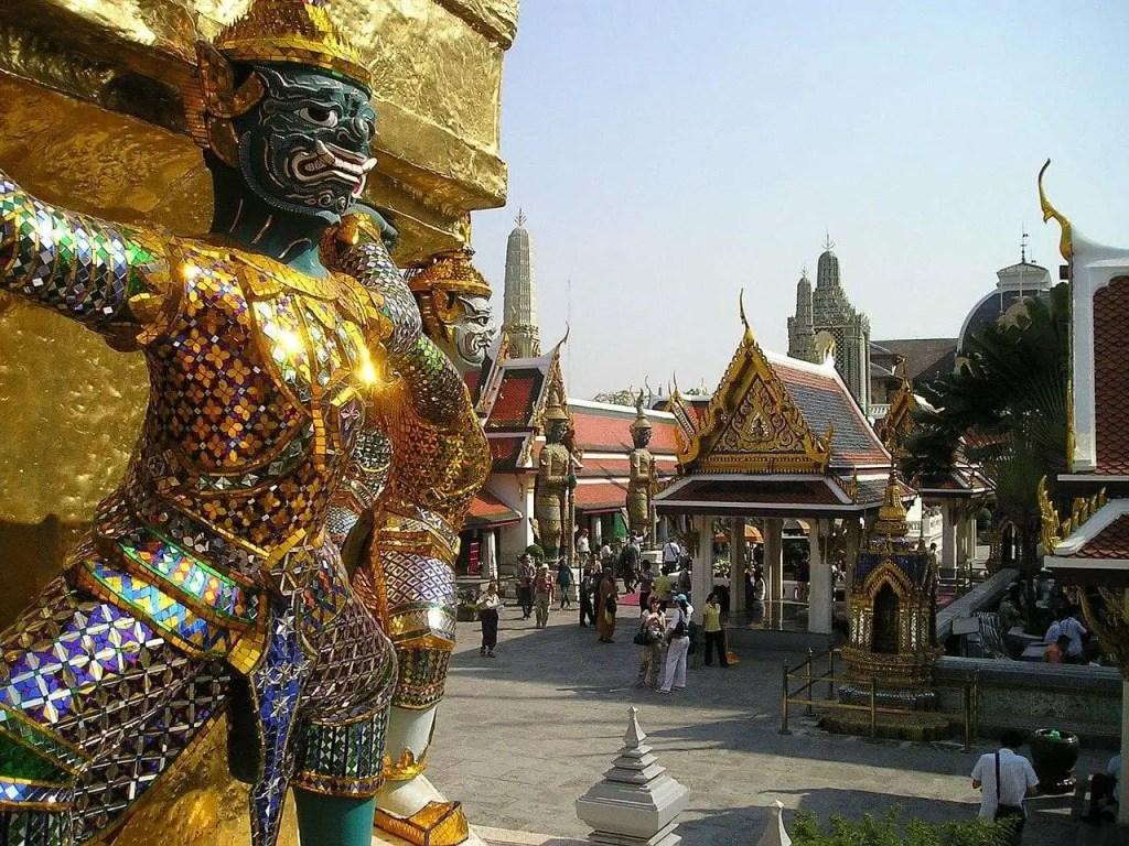 Piękny Bangkok