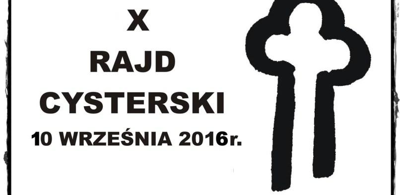 X RAJD CYSTERSKI Z METĄ W OWIŃSKACH JUŻ 10 WRZEŚNIA 2016 r.