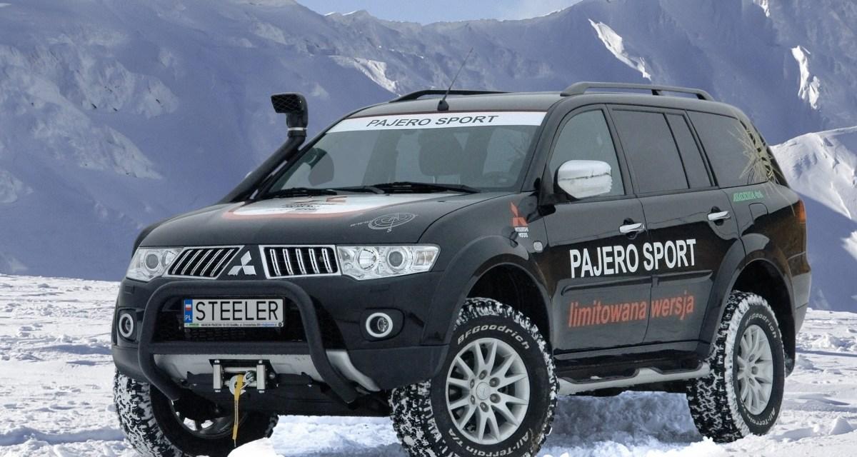 Trzy ekstremalne wcielenia nowego Pajero Sport