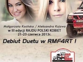 Zawodniczki RMF4rt na starcie III edycji Rajdu Polski Kobiet