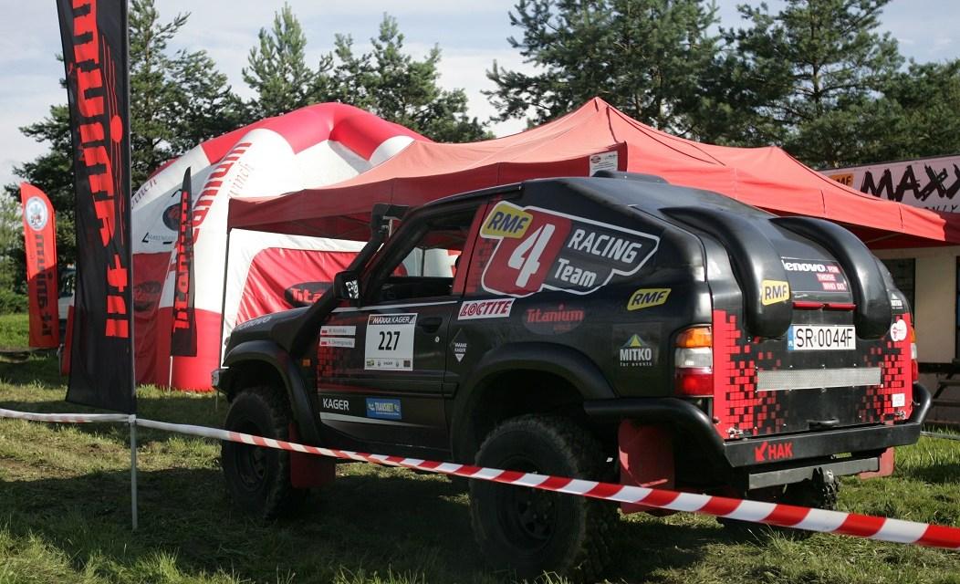 RMF4rt na drugiej rundzie RMF MAXXX Kager Rally