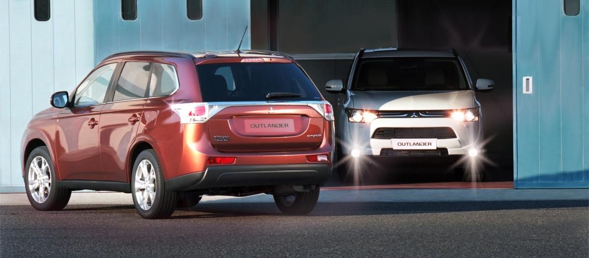 Mitsubishi Outlander z wyróżnieniem Top Safety Pick+