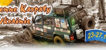 Jesienne Karpaty na Ukrainie z Przygody4x4.pl