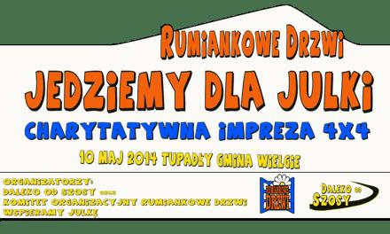 Rumiankowe Drzwi – Jedziemy dla Julki