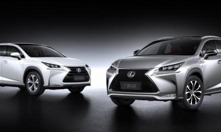 Lexus NX oficjalnie