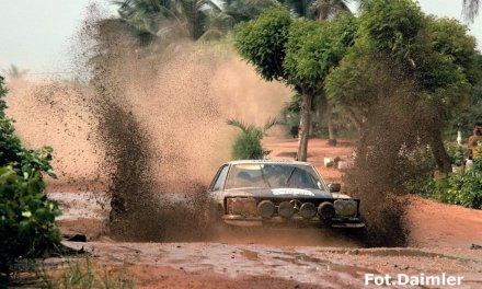 Mercedes 450 SLC – klasykiem na afrykańskie bedroża