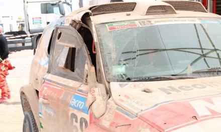 Dakar 2015: Szczęście w nieszczęściu załogi NeoRaid