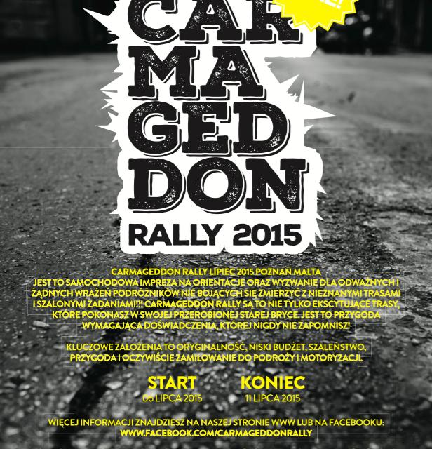 Carmageddon Rally – coraz bliżej