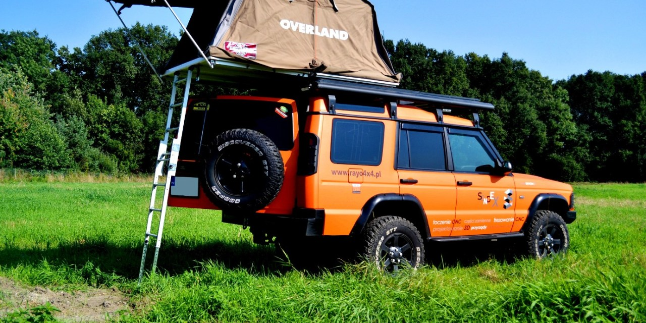 Land Rover Discovery – wyprawówka bez półśrodków