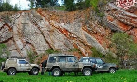 Wiosenny weekend pełen off-road'u w Górach Świętokrzyskich