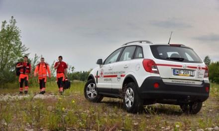 Opel Antara w służbie Polskiego Czerwonego Krzyża