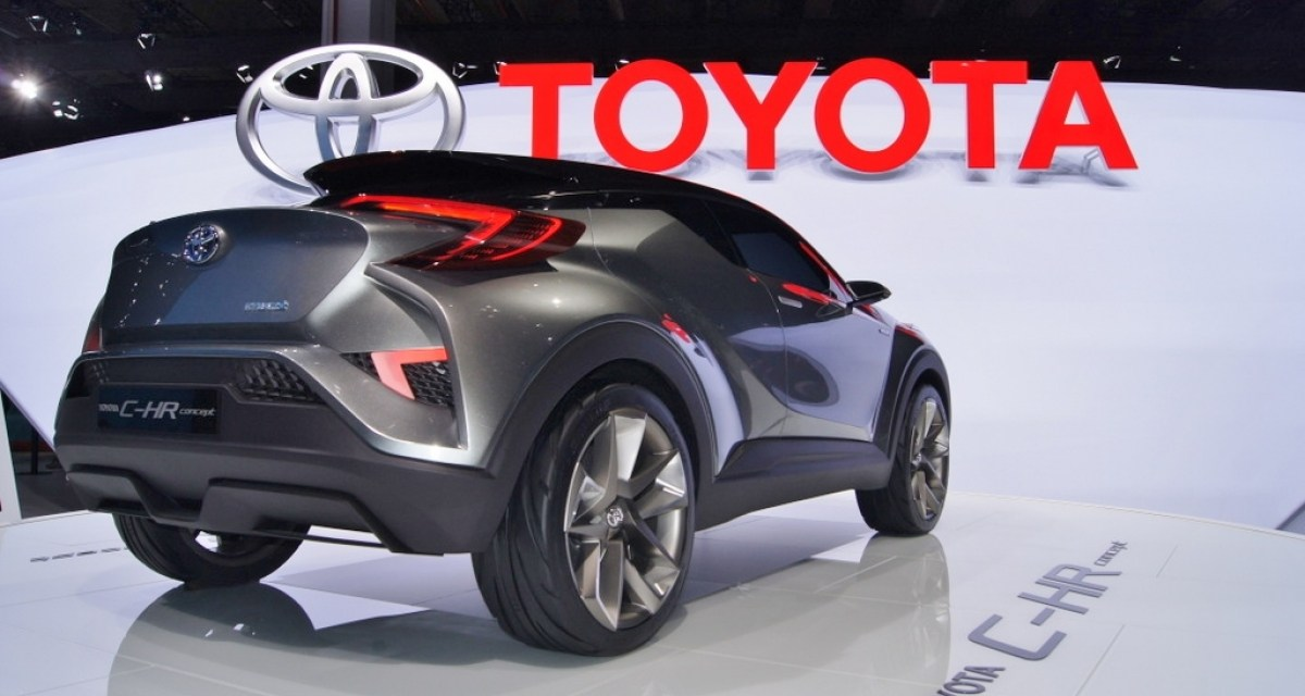Toyota C-HR – nowy crossover