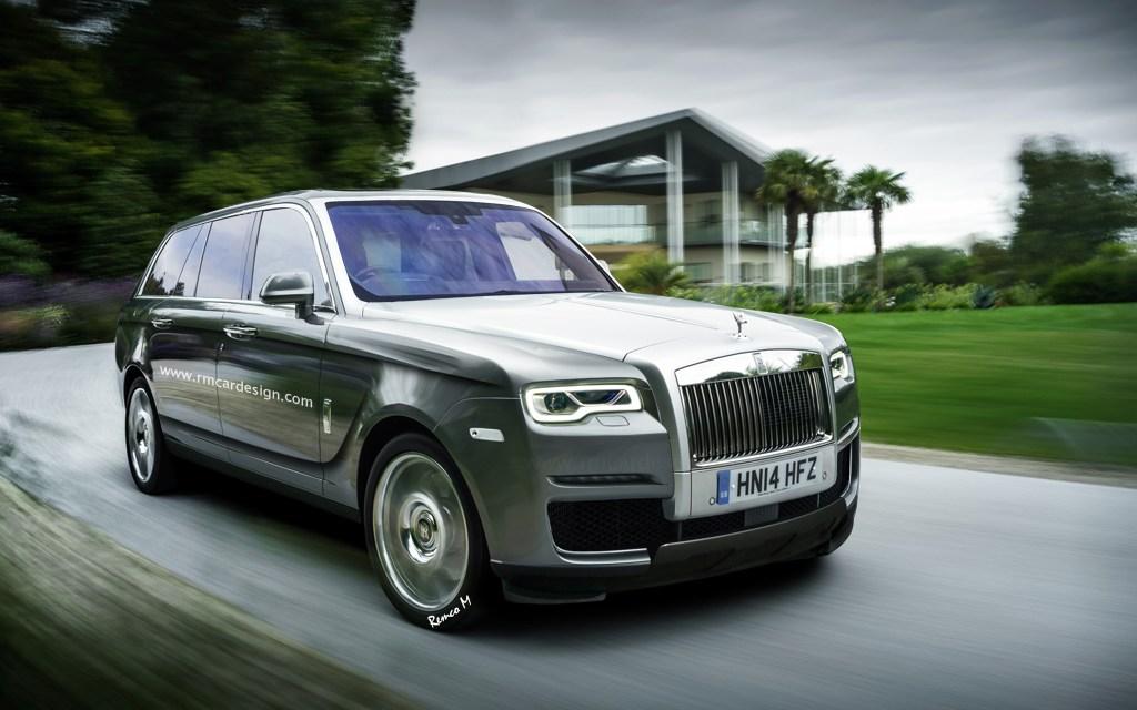 Rolls-Royce Cullinan – czy taki będzie luksusowy SUV ?