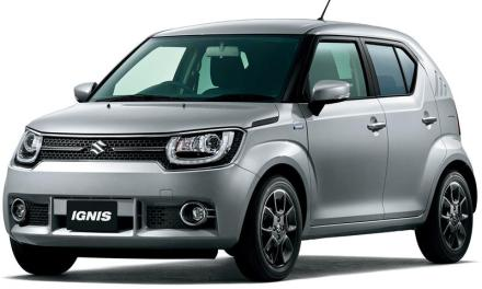 Suzuki Ignis – nowy mini crossover