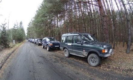 Off-roadowy wypad za miasto trasą Rajdu Nieustającego