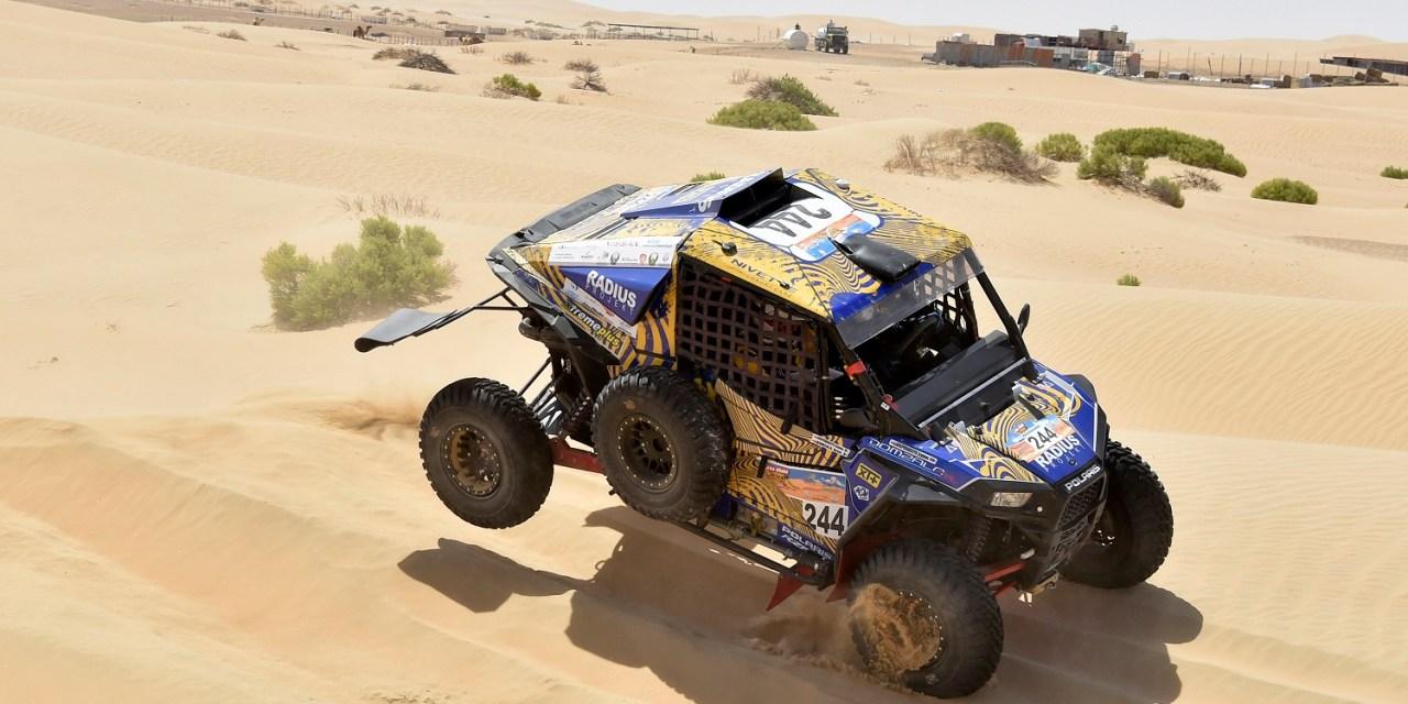 Złoto na wydmach – Aron Domżała i Szymon Gospodarczyk po Abu Dhabi Desert Challenge
