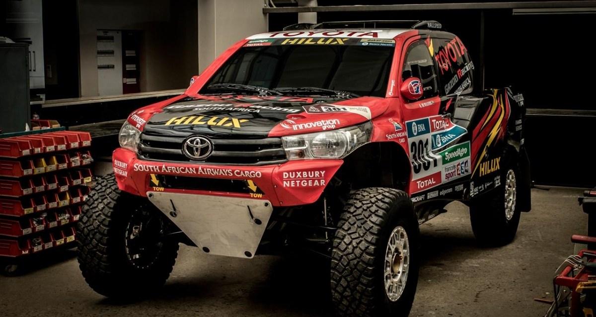 Toyota Hilux Evo – nowy samochód na Rajd Dakar 2017