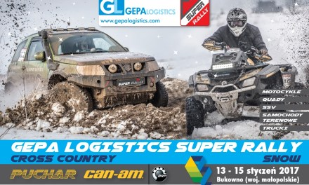 GEPA Logistics Super Rally Snow – śnieżny początek sezonu 2017