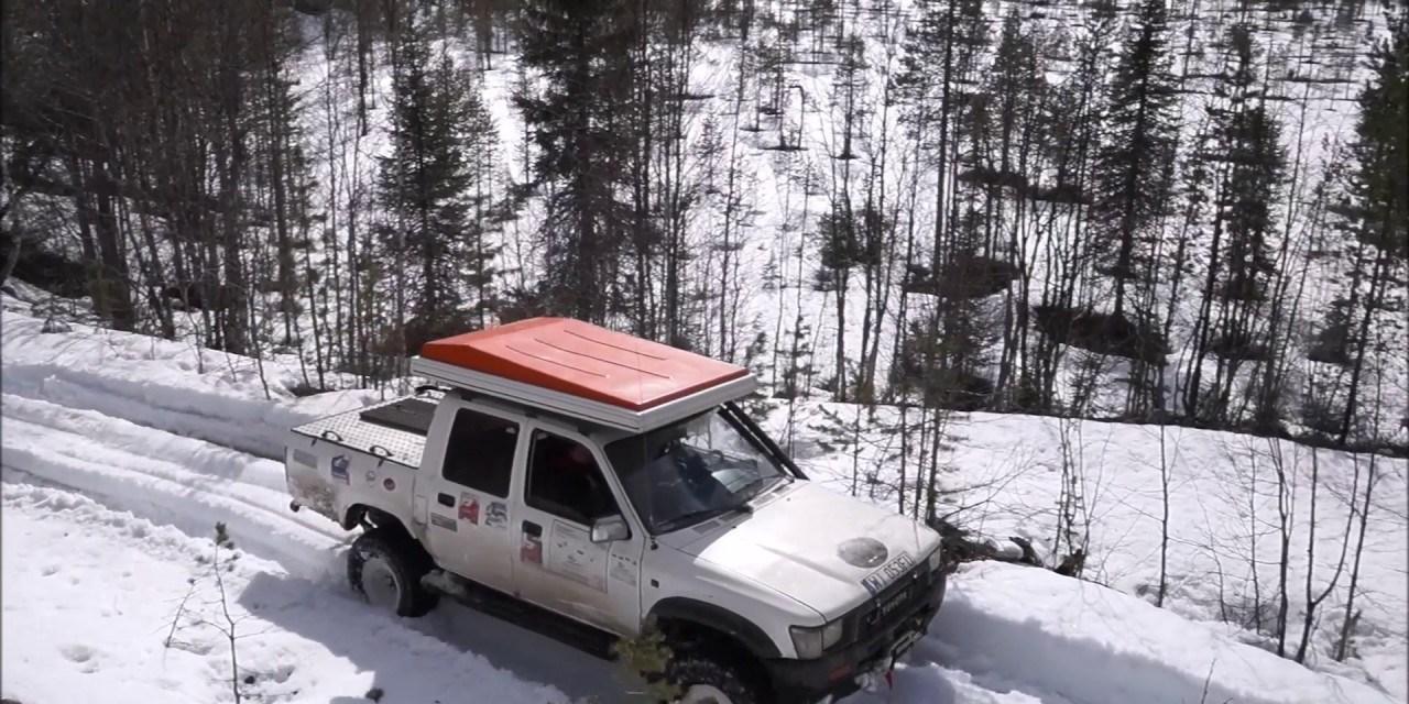 Transkarelia – videorelacja z zimowo-wiosennej wyprawy do Rosji