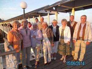Wandergruppe des TUS Bodenteich auf Usedom 4