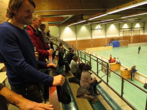 Ca. 70 Zuschauer beim Vereinsturnier