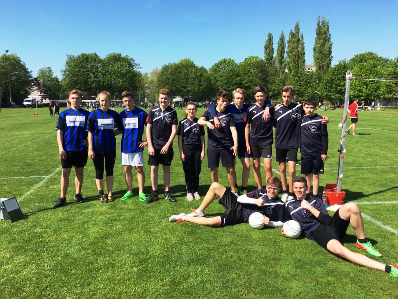 Toller Erfolg der Bodenteicher Oberschule beim Faustballturnier in Braunschweig