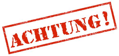 Achtung! Sportbetrieb bis zum 19.04.2020 eingestellt