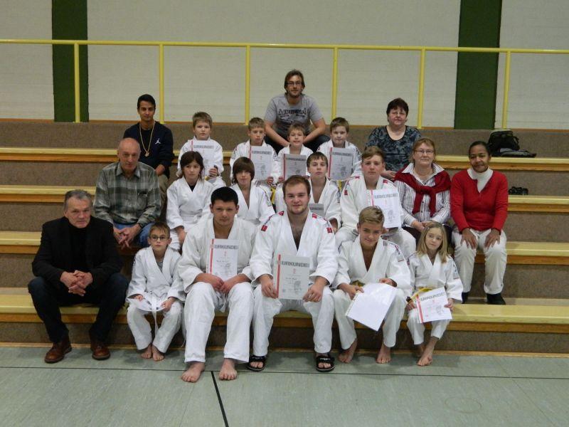 Gruppenbild Judo