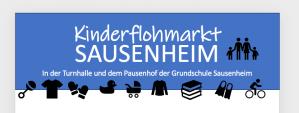 Kinderflohmarkt Sausenheim @ Grundschule Sausenheim | Grünstadt | Rheinland-Pfalz | Deutschland