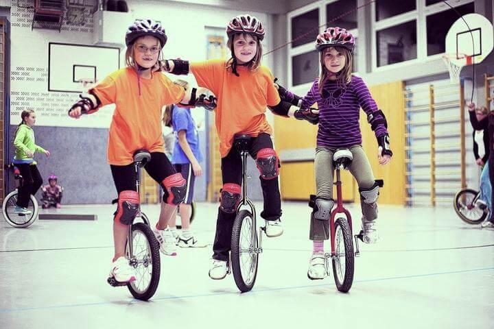 Einrad lernen beim TuS Sausenheim