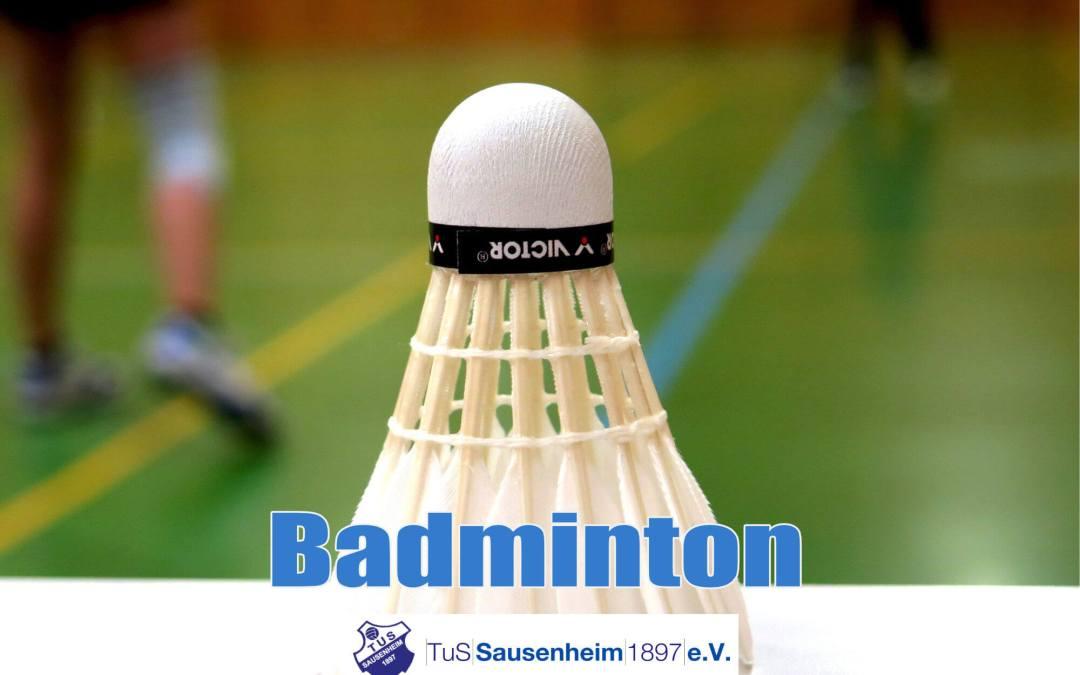 Badminton – jeden Mittwoch