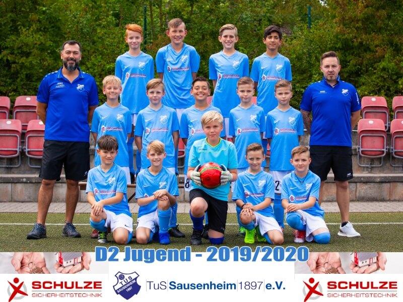 D2 vom TuS Sausenheim startet in die neue Runde