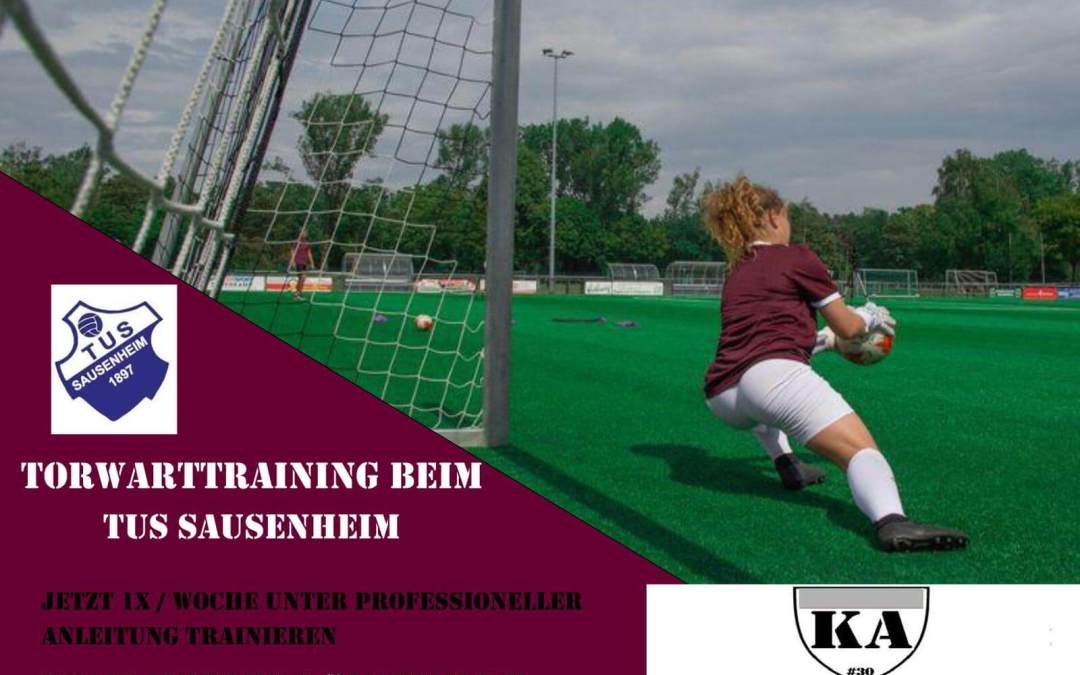 Keeperacademy startet Torwarttraining in Sausenheim