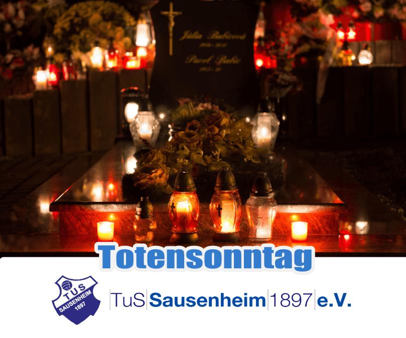 Wir gedenken unserer Verstorbenen