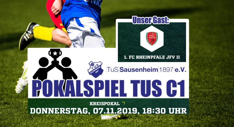 Heute TUS C1: Pokalspiel