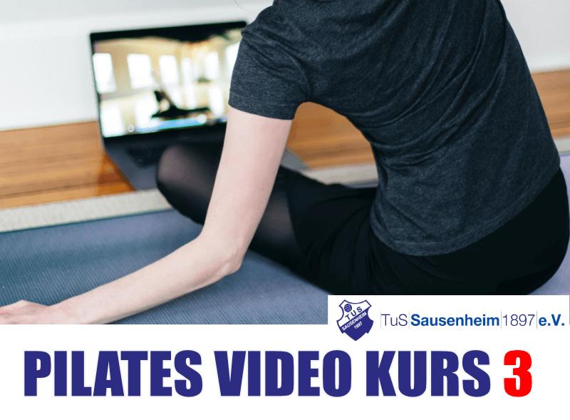 Pilates Video Kurs Teil 03